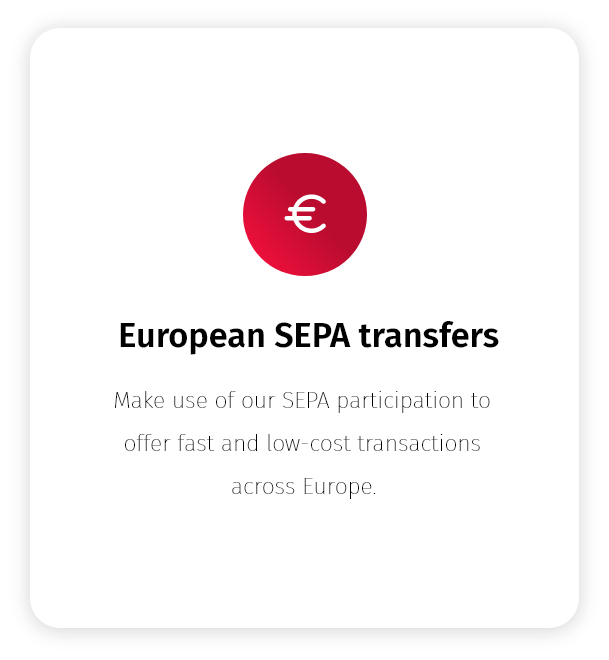 SEPA payments