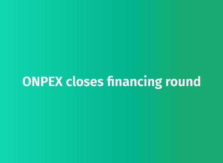 ONPEX closes financing round for its unique BaaS platform with a high seven-digit investment