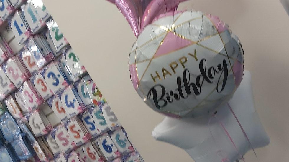 Bouquet  of 3 foil balloons