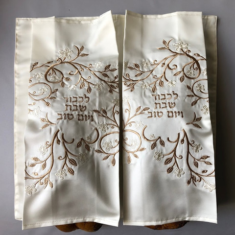 Double Iris Challah Cover - HD8 - $130