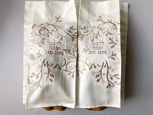 Double Iris Challah Cover
