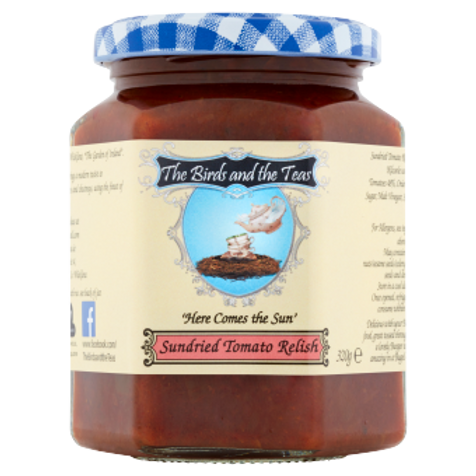 """Here Comes the Sun"" Sundried Tomato Relish"