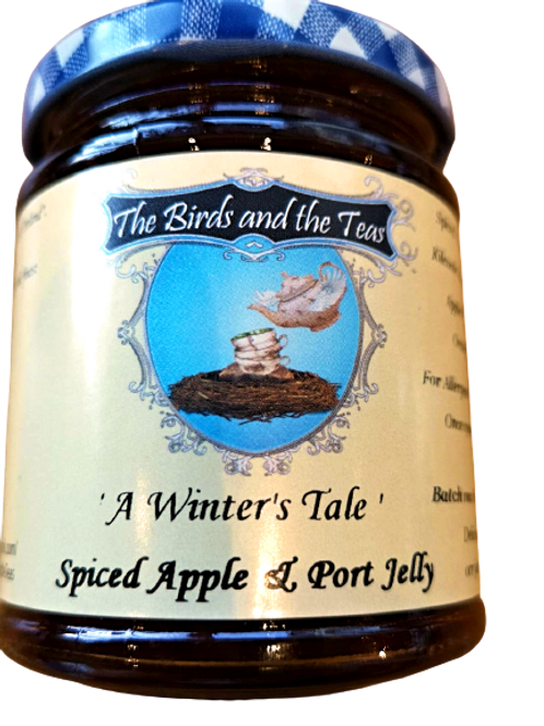 """""""A Winter's Tale"""" Spiced Apple & Port Jelly"""