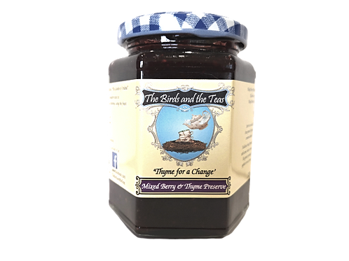 """"""" Thyme for a Change!"""" Mixed Berry and Thyme Jam"""
