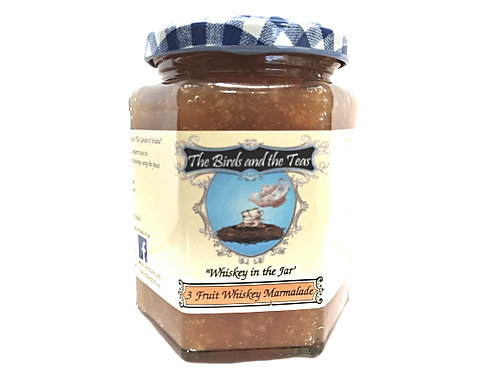 """""""Whiskey in the Jar"""" 3 Fruit Whiskey Marmalade"""