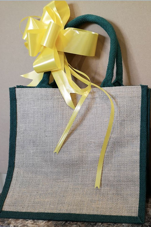 The Create Your Own 6 pack + Isle of Crackers & a reusable jute bag