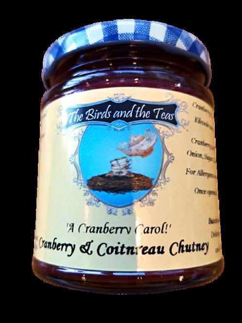 """A Cranberry Carol"" Cranberry & Cointreau Chutney"