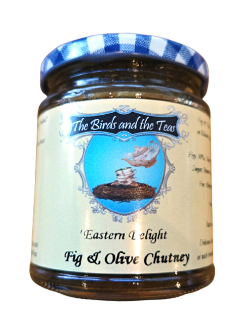 """Eastern Delight""Fig & Olive Chutney"