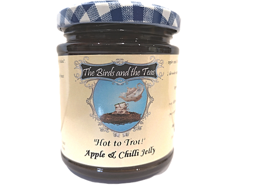 """""""Hot to Trot"""" Apple and Chilli Jelly"""