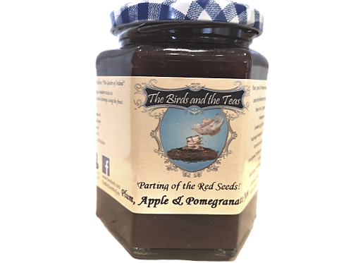 """Plumdidliumptious"" Plum, Apple & Pomegranate Jam"