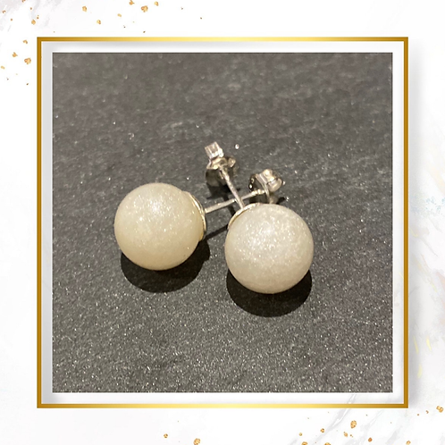Inclusion Sphere Earrings