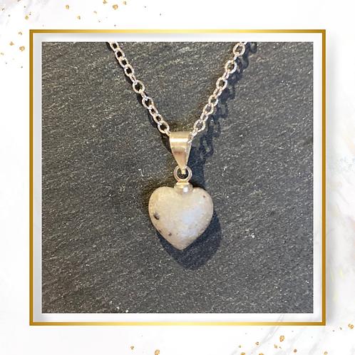 Inclusion Small Heart Pendant