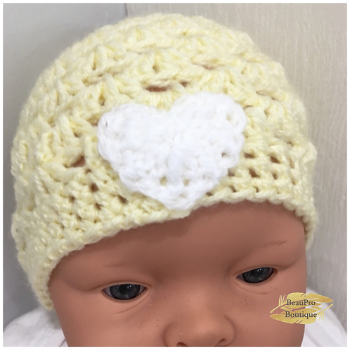 Hand Made Knitted Baby Hat - In Store ONLY