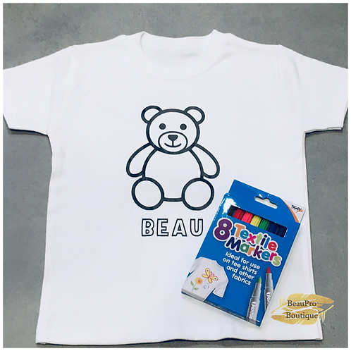 Bear Colour in T-Shirt