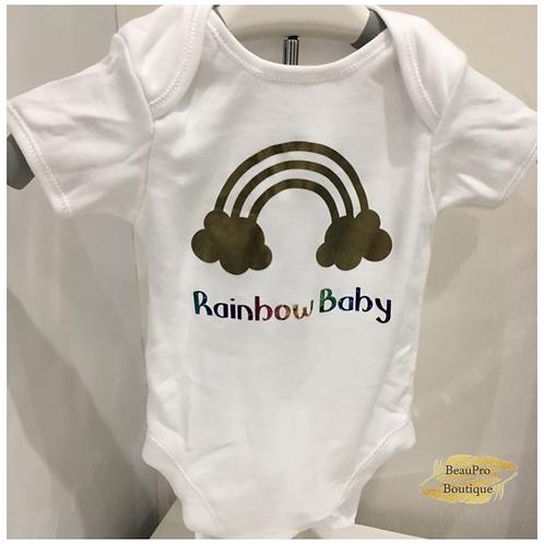 'Rainbow Baby' Baby Grow