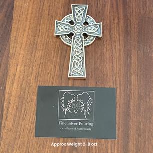 Sand Casted Celtic Cross