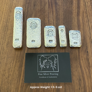 Silver Bars (Various Sizes)