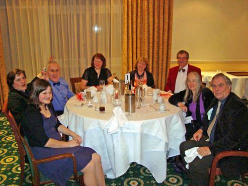 Meal at Ilsington Hotel 2010