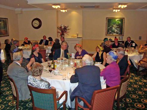 Meal at The Ilsington 2009
