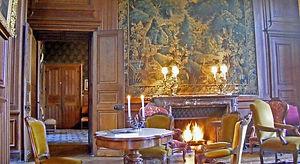 Feu de Bois Château de Ternay