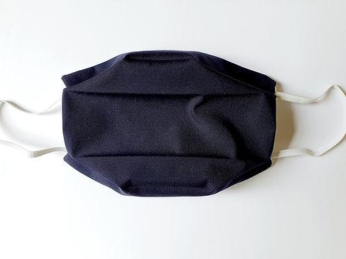 Masque tissu bleu Marine