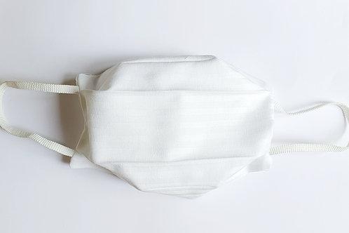 Masque tissu blanc