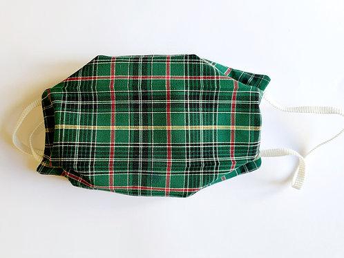 Masque écossais vert