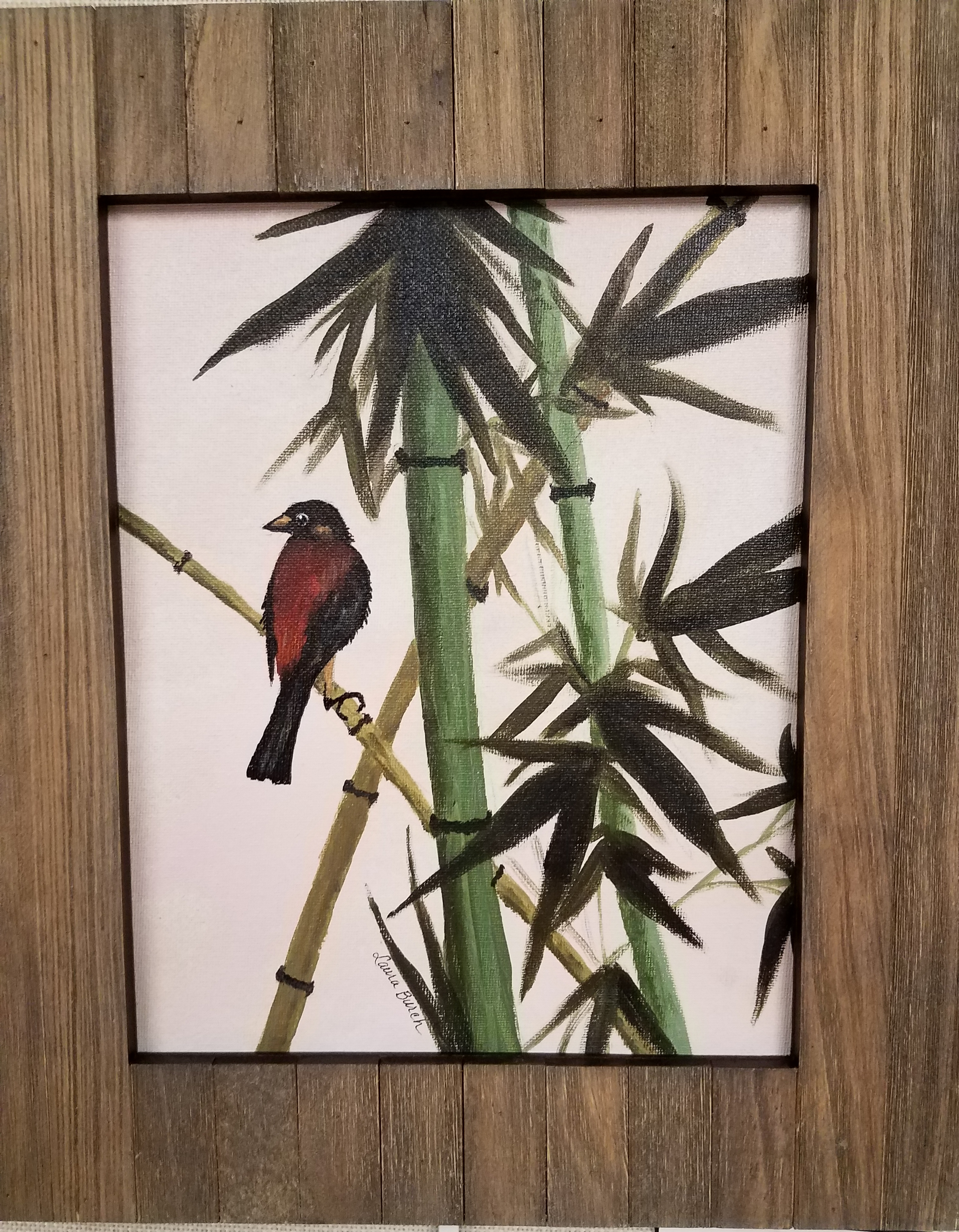 Bird and Bamboo