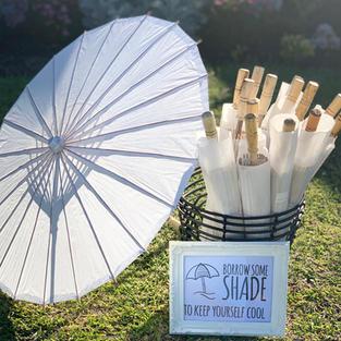 Paper & Bamboo Parasols $100