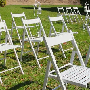 Clasic White Chairs $4.50ea