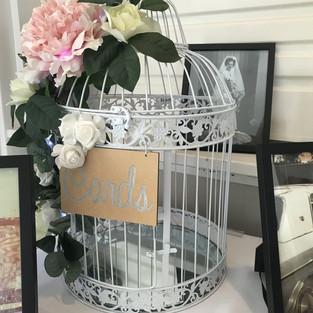 White Birdcage Wishing Well $25