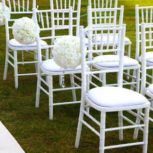 Tiffany White Chairs $5.50ea