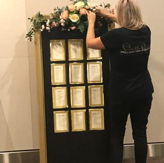 Large Gold Display Board $70