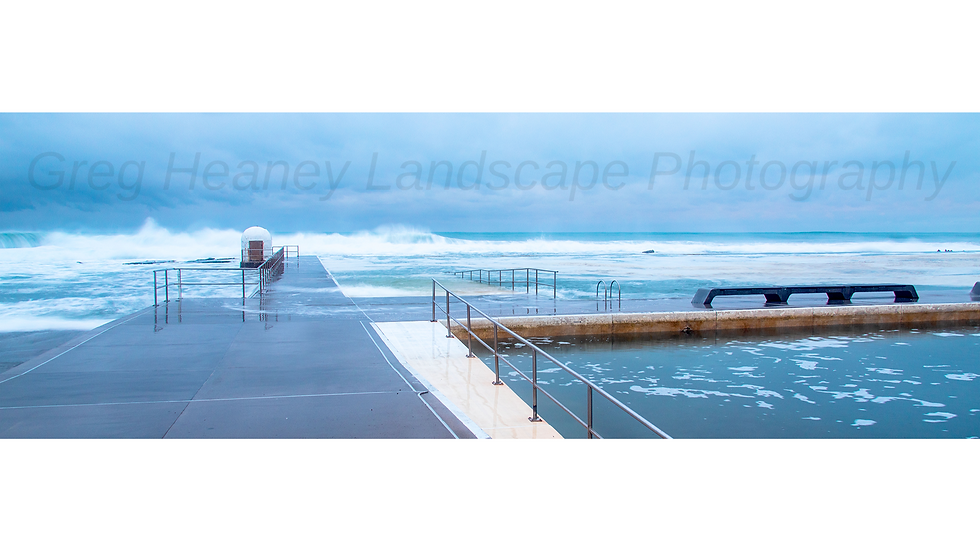 The Sound Of Power, Merewether Baths