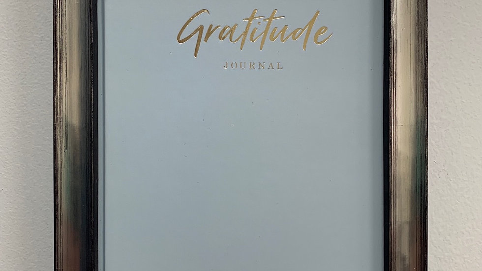 Framed Gratitude Journal