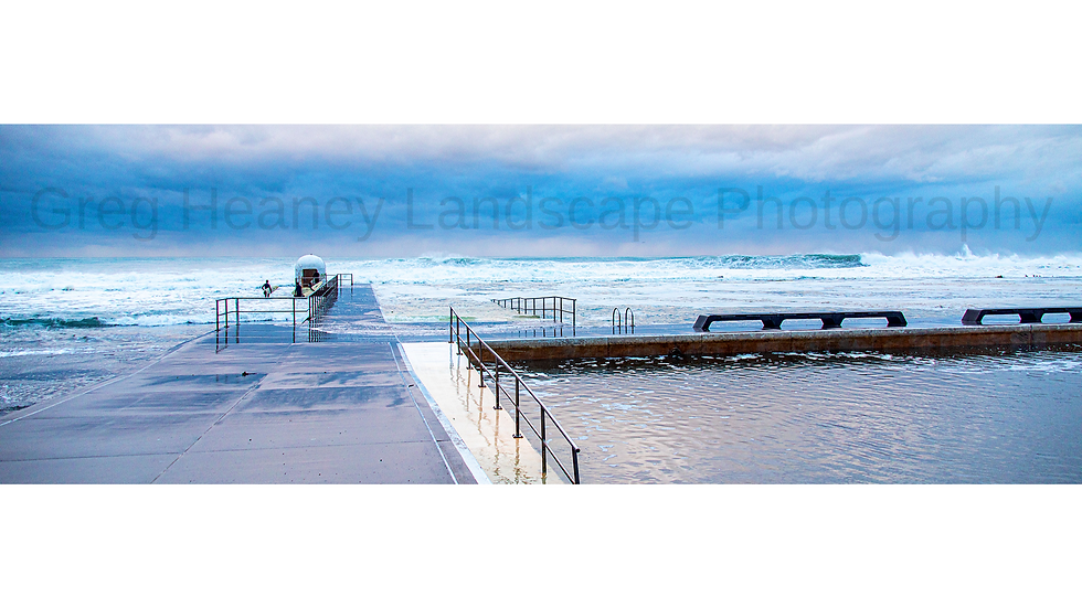 High Seas, Merewether Baths