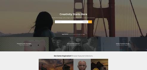 Pond5 Homepage2