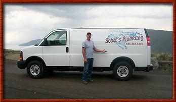 Finger Lakes Plumbing Van