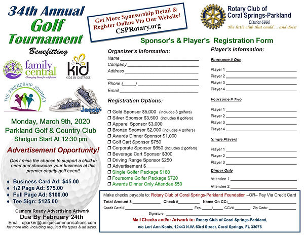 2020 Golf Tournament Registration Form.j
