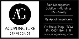 Acupuncture Geelong | Sign