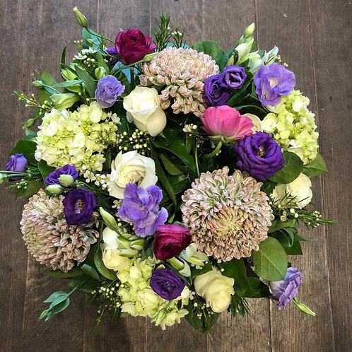 Soft purple bouquet #2