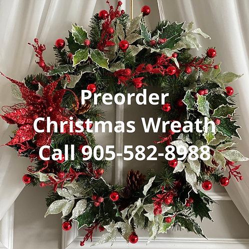 Preorder Christmas Wreath