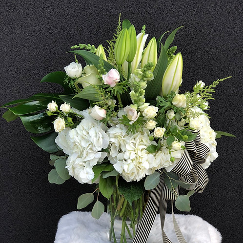 White Arrangement #9
