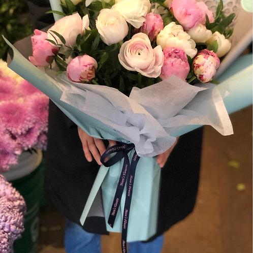 Peonies bouquet #3