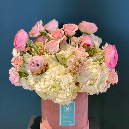 Pink  Box Flowers