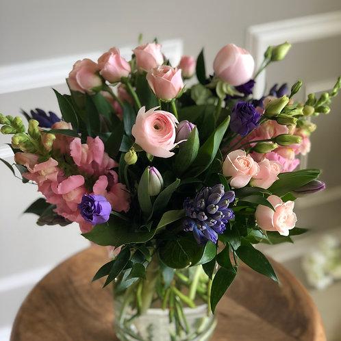 Pink & Purple Arrangement #1