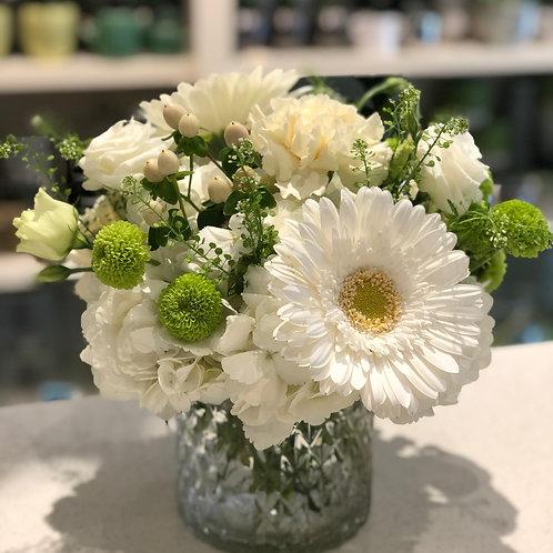 White arrangement #7