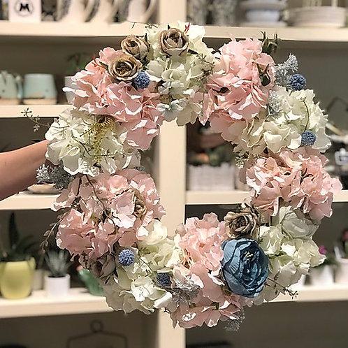 Pink wreath #2