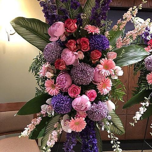 Pink & Purple Spray Flowers