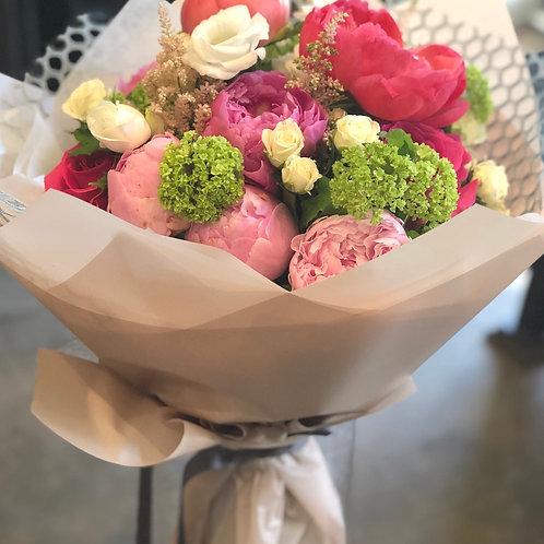 Peonies bouquet #4